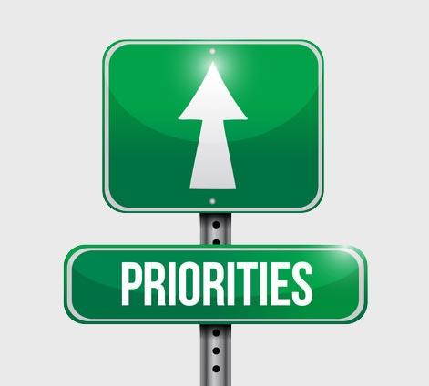 GTD Priorities